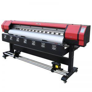 6 metra Printim Video WER-ES1901 DX5 / DX7 kokë eko printer tretës Në Guangzhou Furnizuesi