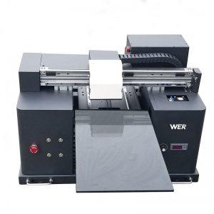 Madhësia A4 LY A42 Dritare digjitale automatike e telefonit UV të udhëhequr nga tableti i rrafshët Printer UV me shtrat të sheshtë me 6 printime me ngjyra WER-E1080UV