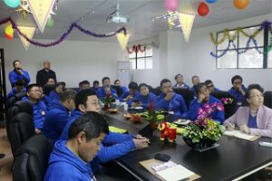 Trajnimi dhe ndarja e Alibaba për GM, 2015