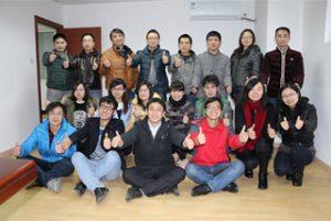 Punëtorët B2B në zyrën qendrore, 2015