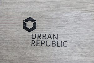 Shtypjen e logos mbi materialet e drurit nga WER-D4880UV