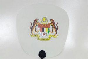 Mostra e ventilatorit të plastikës të shtypur me madhësinë A1 size 6090UV