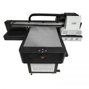Madhësia e vogël me cilësi të lartë të telefonit me shtrat të sheshtë UV printer WER-ED6090UV