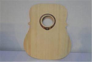 Mostra e kitarës së drurit nga WI-DD4290UV